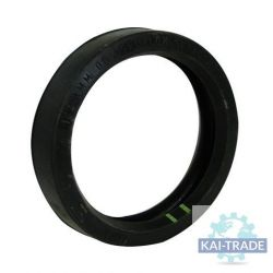 """Rubber joint for coupling concrete hose 4"""""""