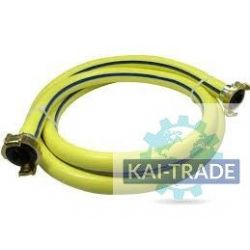 "air hose 1/2"" - 10 M with couplings"
