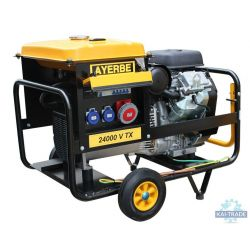 Generator for plastering machine 24 KVA